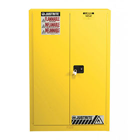 Justrite 60 Gallon Sure-Grip Ex Safety Cabinet For Combustibles