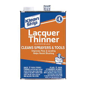 Klean Strip Lacquer Thinner, Gallon - GML170