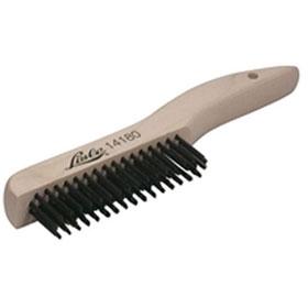 Lisle Shoe Handle Wire Scratch Brush - 14180