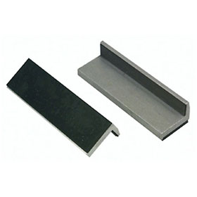 Lisle Rubber Faced Vise Jaw Pads - 48100