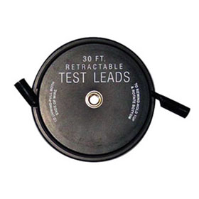 Lang Tools Retractable Test Leads - 1 Lead x 30 ft. - 1130