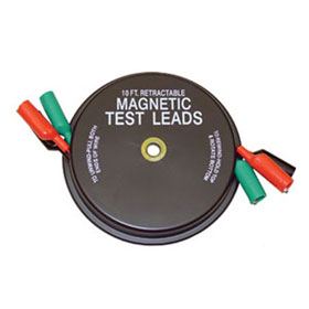 Lang Tools 3 x 10-ft Magnetic Retractable Test Leads - 1135