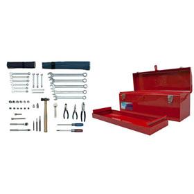 Martin 46 Pc. Mechanic's Starter Industrial Tool Set, SAE - M46K