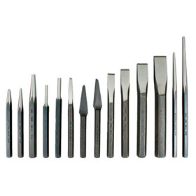 Martin 14 Pc. Combination Chisel & Punch Set - PC14K