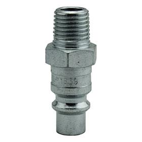 """Milton 1/4"""" MNPT H Style Plug - 1839"""