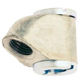 """Milton 1/8""""-27 NPT Dual Air Chuck Head Replacement - 500-4"""