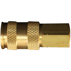 "Milton 1/4"" FNPT V Style High Flow Coupler - S-764"