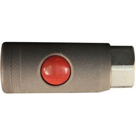 "Milton 1/4"" FNPT M Style Safety Coupler - S-99705"