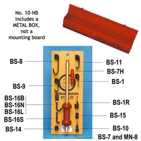 Morgan No. 10 Nokker Kit in Metal Box - No. 10-NB