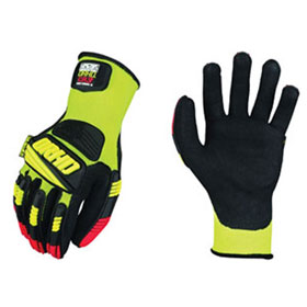 Mechanix Wear ORHD Knit Utility Gloves, Hi-Viz Yellow
