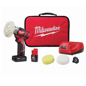 Milwaukee M12™ Variable Speed Polisher/Sander Kit - 2438-22X