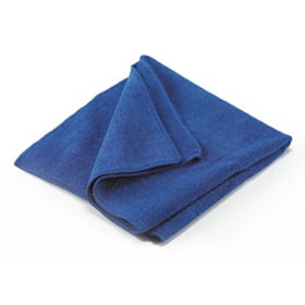 "Norton 16"" x 16"" Blue Magnet Micro-Fiber Towel Wipe - 04402"