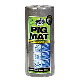 """Pig Mat 15"""" x 50ft Lightweight Absorbent Roll - 25201"""