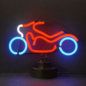 Neonetics Motorcycle Neon Sculpture - 4MOTOR