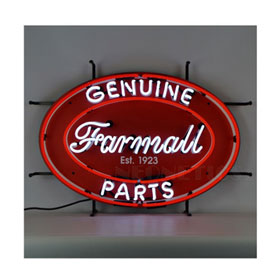 Neonetics Farmall Genuine Parts Oval Neon Sign - 5CaseO