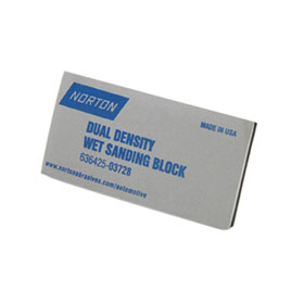Norton Dual Density Wet Sanding Block - 03728