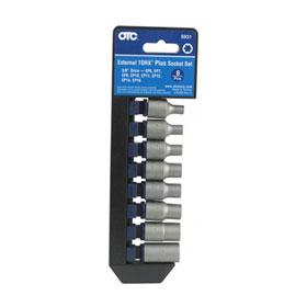 """OTC Tools 8 Pc. External Torx® PLUS Socket Set, 3/8"""" Square - 5931"""