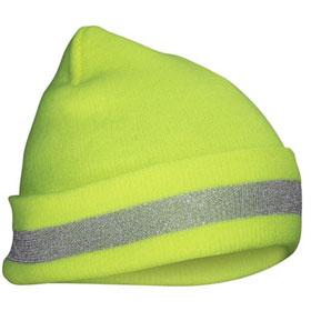 SAS Hi-Viz Knit Beanie, Yellow - 690-1711