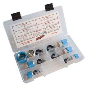 SUR&R Metric A/C Compression Block Off Kit - AC90M