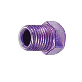 """SUR&R Auto Parts 3/8""""-24 Inverted Flare Nut for 7/16"""" Wrench - BR157"""