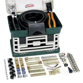 SUR&R Deluxe Transmission Oil Cooler Line Repair Kit - TR555
