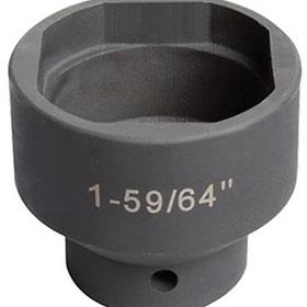 "Sunex Tools 3/4"" Drive 1-59/64"" Ball Joint Impact Socket - 10213"