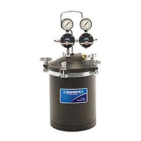 Sharpe 2.5 Gallon Pressure Pot with Dual Regulators - 24A557