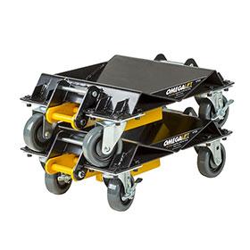 Omega Heavy-Duty 3-in-1 Car Dolly Set - 47020