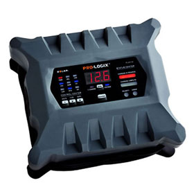 """Solar Pro-Logixâ""""¢ 12/24 Volt 10/6/2A Intelligent Battery Charger/Maintainer - PL2410"""