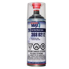 SprayMax 2K Hot Rod Black Satin - 3680212