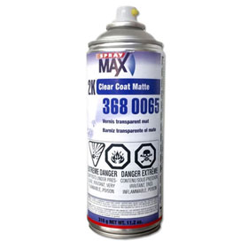 SprayMax 2k Clear Coat, Aerosol
