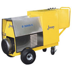 Steam Jenny Electric 3000 PSI at 4 GPM Pressure Washer/90 GPH Steam Cleaner, 460V-3 Phase - E-3000-C