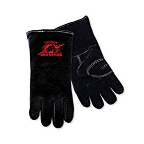 Steiner Welding Gloves, B-Series, Side Split Cowhide, Foam Lined, Lg - 2600B-L