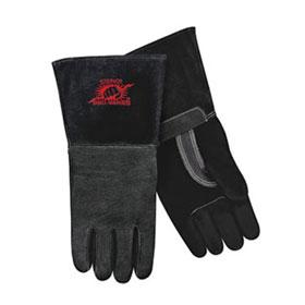 Steiner MIG Gloves Black SPS Pigskin Palm, Foam Lined Back