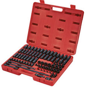 "Sunex Tools 80 Pc. 3/8"" Drive Master Impact Socket Set - 3580"