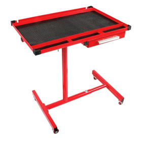 Sunex Tools Adjustable Heavy Duty Work Table with Drawer - 8019