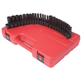 "Sunex Tools 48 Piece 1/4"" Drive Impact Socket Set - 1848"
