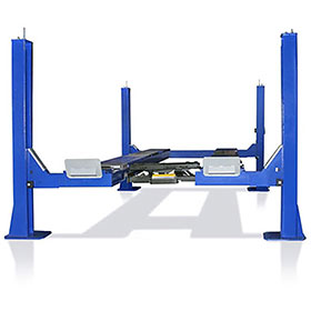 Tuxedo 14,000 LB Four Post Alignment Lift, Open Front, Chain Driven - FP14KO-A