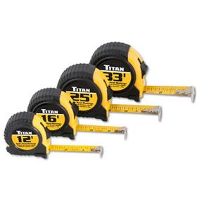 Titan Tools 4pc Tape Measure Set - 10902