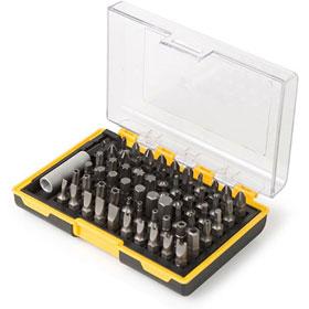 Titan Tools 61pc Screwdriver Bit Set - 16061