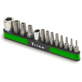 Titan Tools 13pc Tamper Resistant Torx Bit Set - 16113