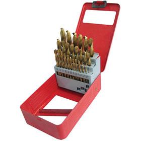 ATD Tools 29pc Titanium Coated Premium Drill Bit Set