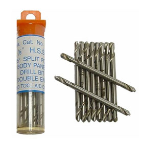 """Tool Aid 1/8"""" Stubby Body Panel Drill Bit with Double Ends - 15210"""