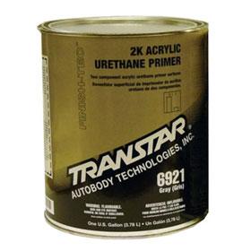 Transtar 2K Hi-Performance Acrylic Urethane Primer, Gray, Gallon - 6921