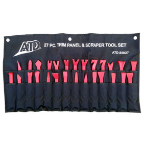 ATD Tools 27pc Trim Panel Removal and Scraper Tool Set
