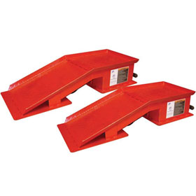 Heavy-Duty 20-Ton Wide Truck Ramps - 7321