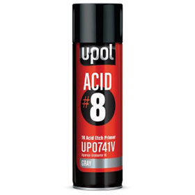 U-POL Acid #8 - 1K Etch Primer Gray - UP0741V