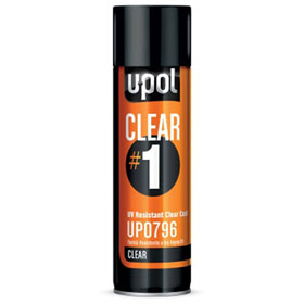 U-Pol Clear #1 - High Gloss Clear Coat - UP0796