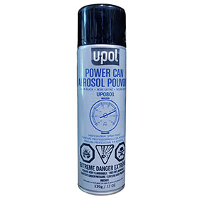 U-POL Power Can Trim Black, 500mL, Aerosol - UP0801