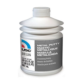 USC Metal Putty Polyester Finishing and Blending Putty, 30 oz. - 26125
